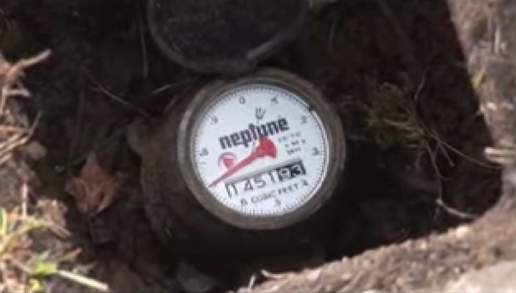 Water Meter To Check For Household